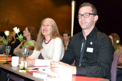 Gro Hexeberg Dahl og Christopher Beckham