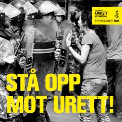 TV-aksjonen 2012 - Amnesty - Stå opp mot urett!