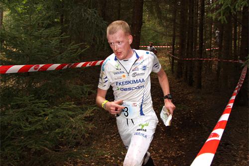 Anders Nordberg i Blodslitet et tidligere år. Foto: Geir Nilsen/OPN.no.