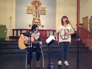 Fra konserten i Kirkenes kirke