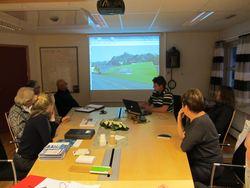 Bassenget - møte i byggekomiteen