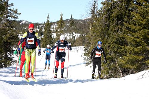 Norefjellrennet i en tidligere utgave. Foto: Geir Nilsen/Langrenn.com.