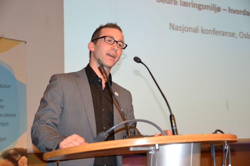 Beckham på konferanse om læringsmiljø