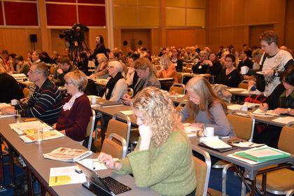 Deltakere på Læringsmiljøkonferansen