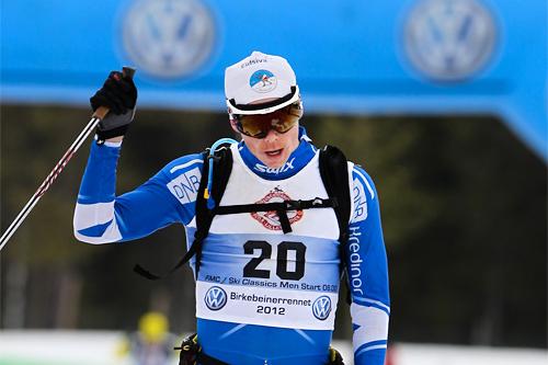 Espen Harald Bjerke i Birkebeinerrennet 2012. Foto: Laiho/NordicFocus.