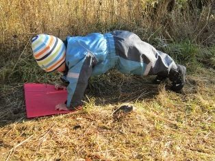 Barn i fysisk aktivitet