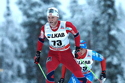 Martin Johnsrud Sundby vant verdenscupåpningen i Gällivare for menn. Foto: Felgenhauer/NordicFocus