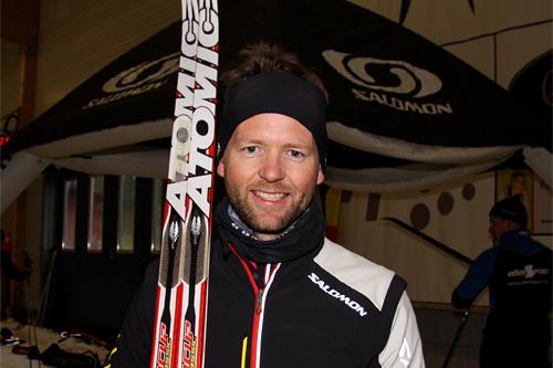 Bård Bakke i Amer Sports. Foto: Geir Nilsen/Langrenn.com.