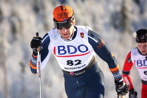Geir Ludvig Aasen Ouren. Foto: Geir Nilsen/Langrenn.com.