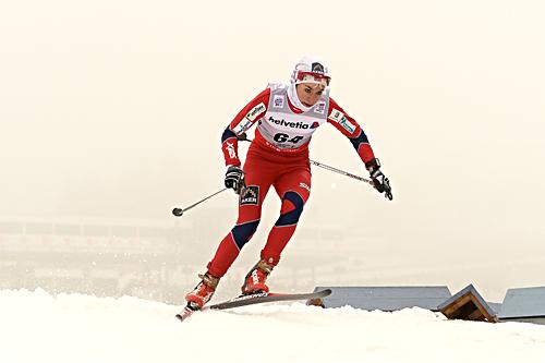 Heidi Weng fikk en tung start på Tour de Ski 2012/2013 med 39.-plass i prologen i Oberhof. Foto: Felgenhauer/NordicFocus