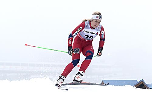 Astrid Uhrenholdt ble beste norske kvinne i åpningsrennet i Tour de Ski 2012/2013. Hun ble nummer seks i prologen i Oberhof. Foto: Felgenhauer/NordicFocus