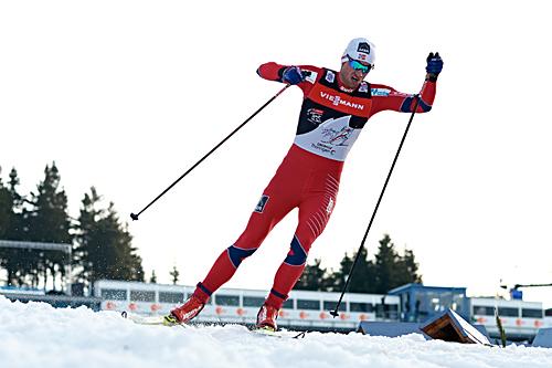 Petter Northug vant prologen i Oberhof, som var første etappe av Tour de Ski 2012/2013. Foto: Felgenhauer/NordicFocus