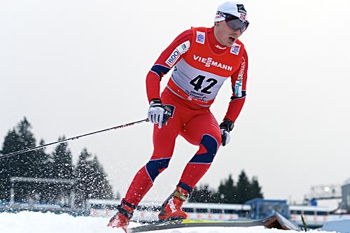 Finn Hågen Krogh ble nummer 40 i åpningsrennet av Tour de Ski 2012/2013, prologen i Oberhof. Foto: Felgenhauer/NordicFocus