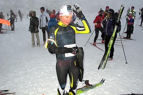 Maiken Caspersen Falla vant Romjulsrennet Sjusjøen 2012. Foto: Arrangør
