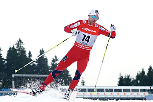 Tord Asle Gjerdalen ute i prologen til Tour de Ski 2012-2013. Foto: Felgenhauer/NordicFocus.