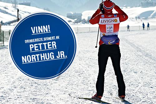 Petter Northug og Bendit. Bildet er fra La Sgambeda i desember 2012 og er tatt av Felgenhauer/NordicFocus.