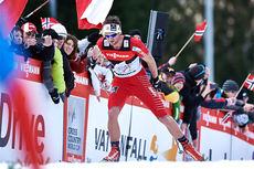 Petter Northug i Tour de Ski sin siste etappe opp monsterbakken i Val di Fiemme i en utgave det var ekstra varmt. Foto: Felgenhauer/NordicFocus.