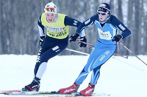 Oppgjøret mellom Oscar Moe, Heming og Simen Myhre, Koll fra 2012. Simen vant med 3 sekunder. Foto: Koll.