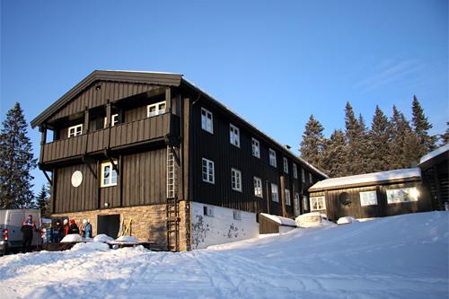 Løvlia på Krokskogen mellom Oslo og Hønefoss. Foto: Geir Nilsen/Langrenn.com.