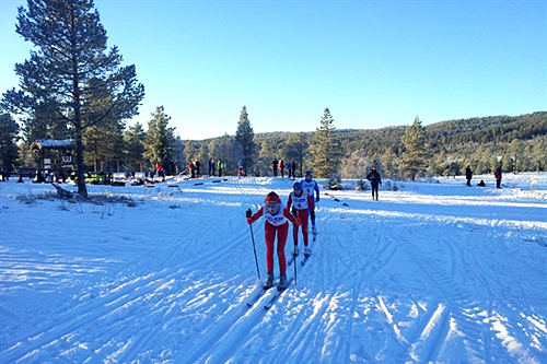 Nordmarka Rundt 2013. Foto: Ronny Johansen