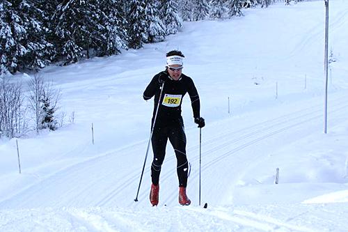 Thomas Gifstad underveis i Stenfjellrunden 2013 som han vant. Foto: Stein Arne Negård