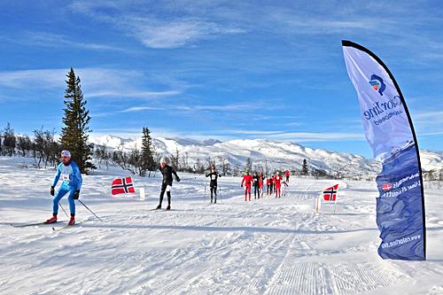 Vakre omgivelser i HelteRennet 2013. Foto: Torbjørn Dyrland