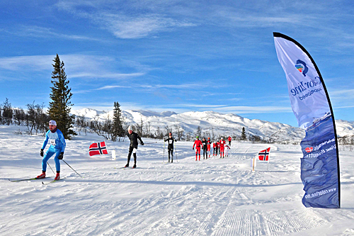 Fra HelteRennet et tidligere år. Foto: Torbjørn Dyrland.