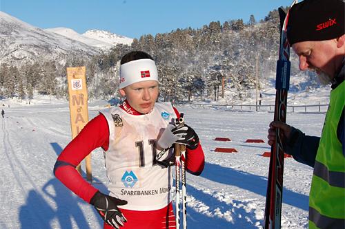 Karoline Holsen Kyte var raskeste dame i Skardilten 2013. Foto: Grete Opheim.