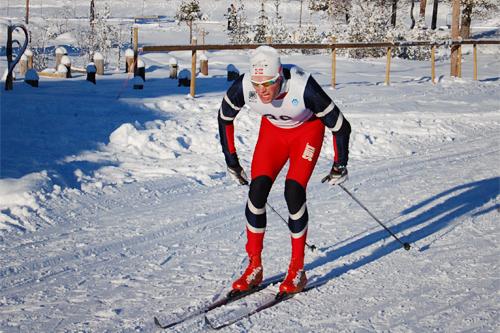 Herrevinner i Skardilten 2013, Tor Erik Aurstad. Foto: Grete Opheim.