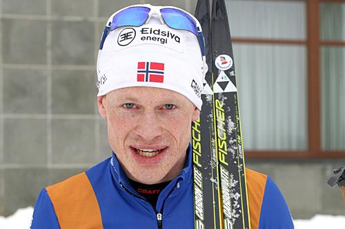 Steffen Sæterhagen Paulsen vant Grenaderløpet 2013. Foto: Ina Lillegård Marchesan