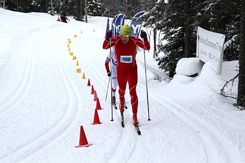 Jonas Nielsen vant Hauern søndag. Her på vei mot seier i Montebellorennet 2013. Arrangørfoto.