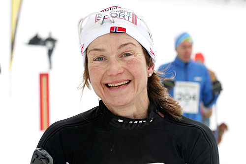 Unni Persson Moseby, beste kvinne i Grenaderløpet 2013. Foto: Ina Lillegård Marchesan