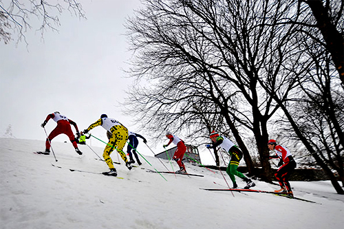 Herrenes kvartfinale i kneika under Studentlekene 2013. Foto: Simen Kjelsrud.