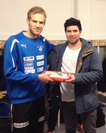 Mortensen signert