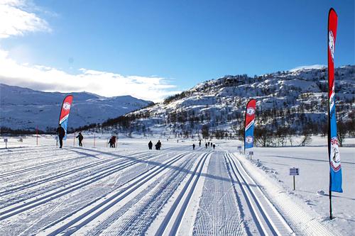 Sirdal Skimaraton 2013. Foto: Bjørn Tore Haugen.