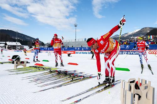 Racing service under VM i Val di Fiemme 2013. Foto: Laiho/NordicFocus.