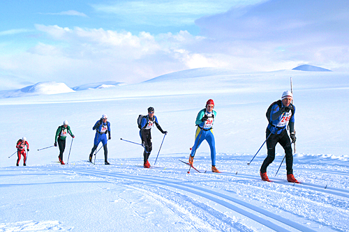 Fra en tidligere utgave av Troll Ski Marathon. Arrangørfoto.