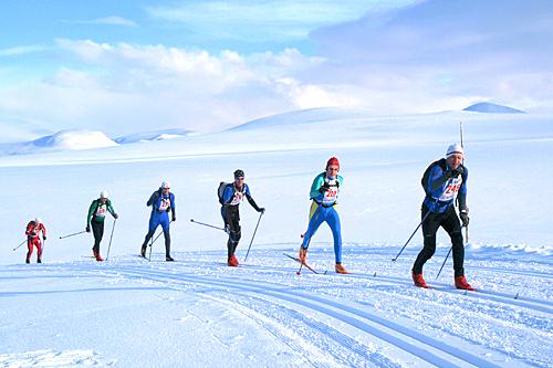 Troll Ski Marathon en tidligere sesong. Foto: Troll Ski Marathon