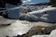 Heiavann om vinteren