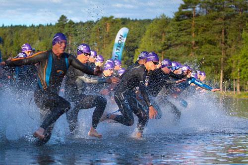 Illustrasjonsbilde Oslo Triathlon. Foto: Dag Oliver.