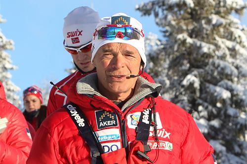 Steinar Mundal på Beitosprinten. Foto: Erik Borg.