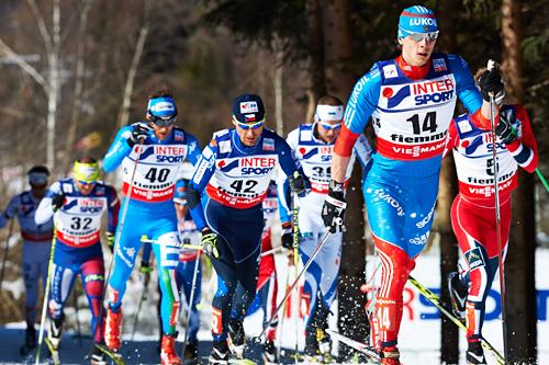 Fellesstart VM Val di Fiemme 2013. Foto: Felgenhauer/NordicFocus.