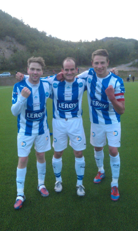 Øyvind,Reidar og Kim