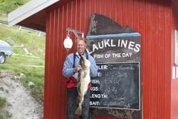 Carl Kohrtz, torsk 10 kg