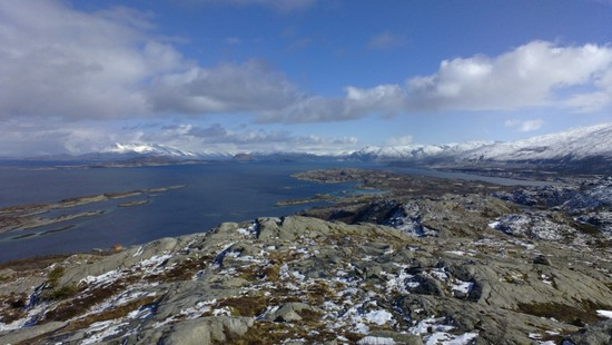 Hamnfjellet - utsikt mot nord