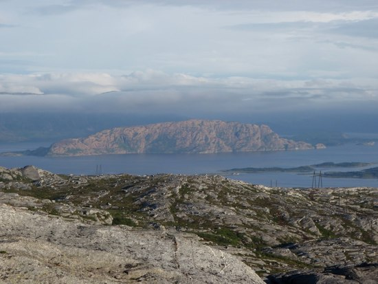 utsikt fra Breitind
