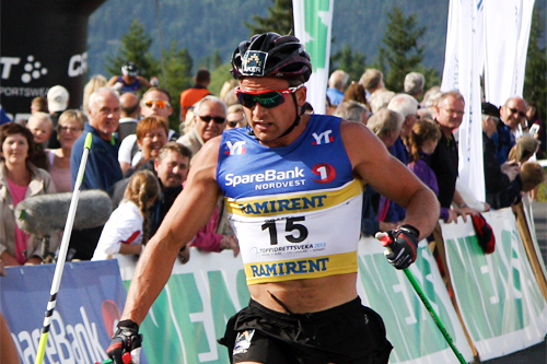 Niklas Dyrhaug i Toppidrettsveka 2013. Foto: Geir Nilsen/Langrenn.com.