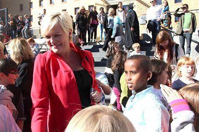 Kristin Halvorsen på Kampen