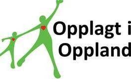 Opplagt i Oppland logo