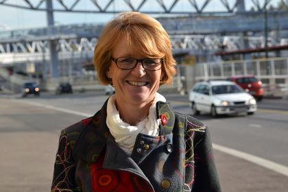 Elisabeth Strengen Gundersen - ute i trafikk